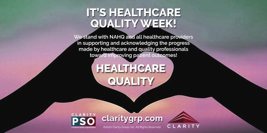 HealthcareQualityWeek